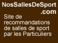 Trouvez les meilleures salles de sport avec les avis clients sur SallesDeSport.NosAvis.com